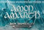 Amon Amarth Dark Tranquillity Omnium Gatherum - Bologna