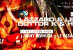 Lazzaro & Le Ossa, Dottor K & Hypna X, rock party