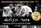 Epifania Speciale con Obelisco Nero in concerto al GRA'