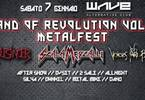Land Of Revolution II Metal fest - Live & Djset Night by Wave