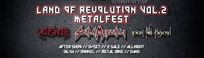 Land Of Revolution II Metal fest - Live & Djset Night by Wave