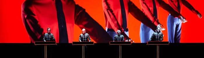 Kraftwerk 3D - Tour 2017 - Firenze