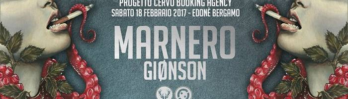 Marnero + Giønson live