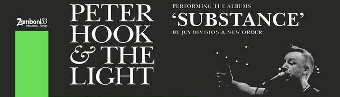 Peter Hook & The Light to perform Substance