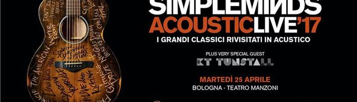 Simple Minds in concerto a Bologna
