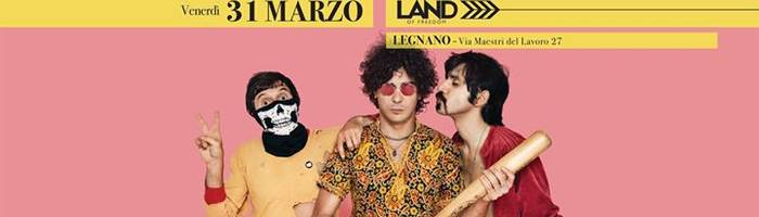 The Zen Circus Live at Land of Freedom, Legnano