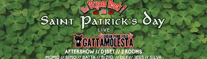 St Patrick's Day - Gattamolesta live