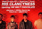 His Clancyness live // tender:club - Firenze