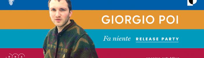 Giorgio Poi live al Quirinetta - Roma
