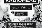 Radiohead James Blake Michael Kiwanuka @I-Days Milano 2017
