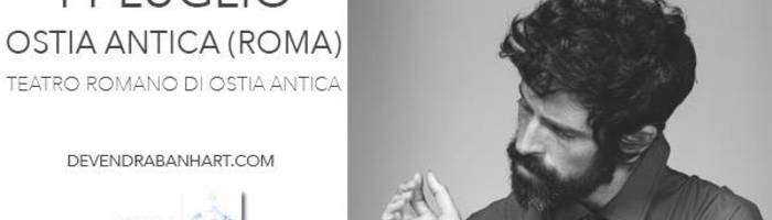 Devendra Banhart // Teatro Romano di Ostia Antica (Roma)