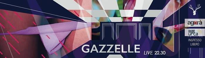 GAZZELLE - Live @ Sala Del Maniscalco // URBINO // 28.03.17
