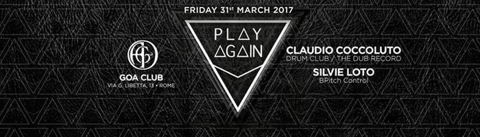 Play Again presents: a special Friday night