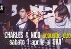 Charles & Nico acoustic duo live al GRA'