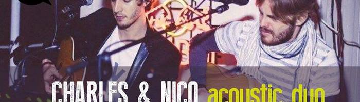 Charles & Nico acoustic duo live al GRA'
