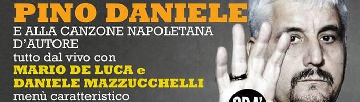 Omaggio a Pino Daniele, dalla musica alla cucina