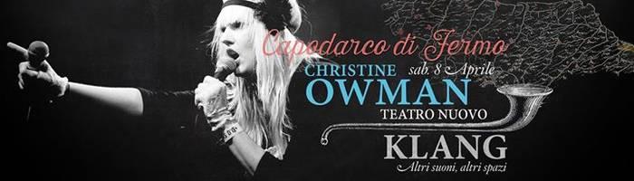 Christine Owman - Klang festival