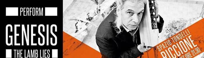 The Waiting Room + Vincenzo Vasi plays Genesis / Spazio Tondelli