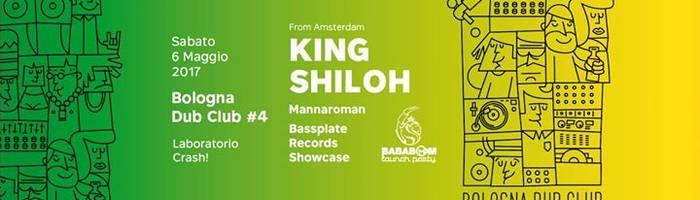 KING SHILOH / Mannaroman / Bassplate Rec. @ Crash! / BDC #4