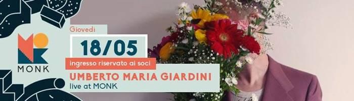 "Umberto Maria Giardini ""Futuro Proximo"" live // MONK"