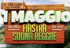 Fiastra suona Reggae at B-Side Camp