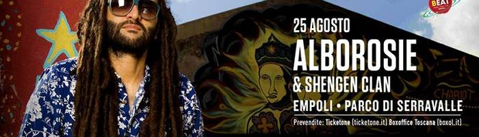 Alborosie & Shengen Clan in concerto a Empoli - Beat Festival