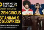 The Zen Circus + Fast Animals And Slow Kids a #Sherwood17