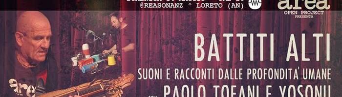 Battiti Alti - AREA open project con Paolo Tofani & Yosonu