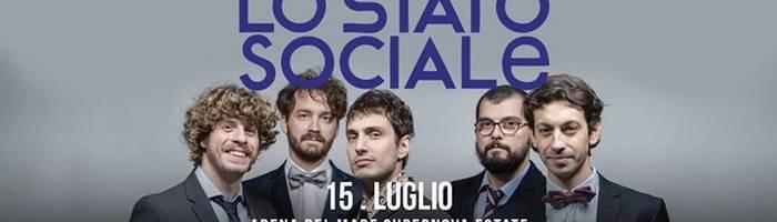 Lo Stato Sociale / Supernova Estate / Arena del Mare / Genova
