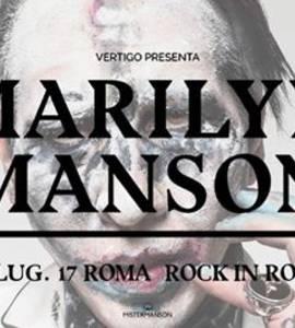 Marilyn Manson - Live Roma 25 Luglio 2017