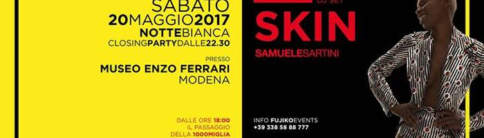 SKIN at MEF Museo Enzo Ferrari - 1000 Miglia e Notte Bianca