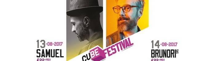 Cube Festival - Samuel + Brunori Sas al Pyrex Arena, Guendalina