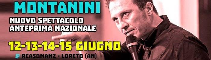 Giorgio Montanini al Reasonanz - 12/13/14/15 Giugno
