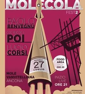 Molecola Fest#2- Lucio Corsi, Giorgio Poi, Paolo Benvegnù