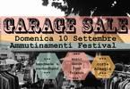 GarageSale 10 Settembre Ammutinamenti Festival
