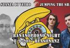 Bananophono Night: La Stanza di Vetro + Jumping The Shark
