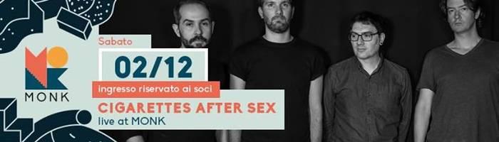 Cigarettes After Sex live
