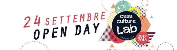 OPEN DAY! Casa Culture Lab