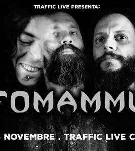 Ufomammut plus guests live at Traffic