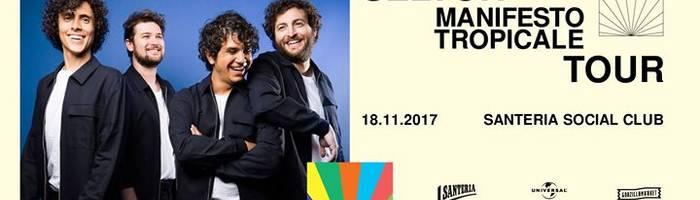 Selton - Manifesto Tropicale tour a Santeria Social Club