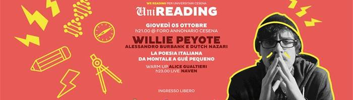 Willie Peyote - da Montale a Gué Pequeno | Uni Reading