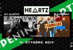 Heartz Opening Party - Dj Aladyn (RadioDeejay) + I Camillas live
