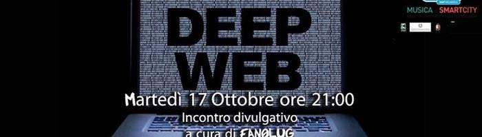 Incontro divulgativo sul Deep Web