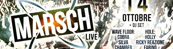 Marsch Live// Aftershow djset @Wave