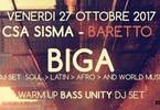 CSA Sisma Baretto - BIGA dj set + Warm up Bass Unity dj set