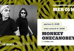 Monkey OneCanObey - Live a Le Mura
