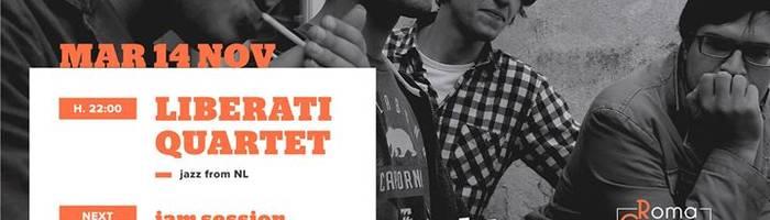 Liberati Quartet per Roma Groove Session