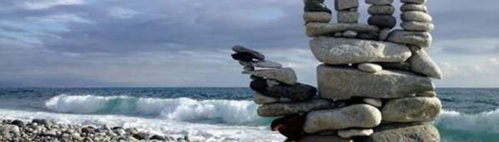 LA RICERCA DELL'EQUILIBRIO -con il campione del mondo di Stone Balance
