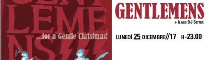 Live at Christmas_The Gentlemens!