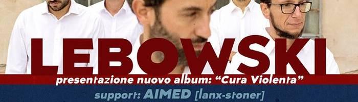 """Lebowski live - presentazione """"Cura Violenta"""" / support: Aimed"""
